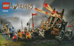 LEGO Vikings 7020 Army of Vikings with Heavy Artillery Wagon