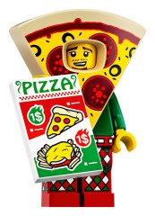 LEGO Collectable Minifigures 71025 Pizza Costume Guy
