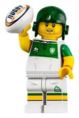 LEGO Collectable Minifigures 71025 Rugby Player