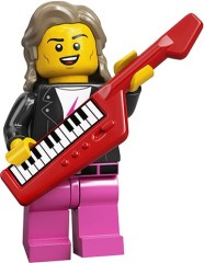 LEGO Collectable Minifigures 71027 80s Musician