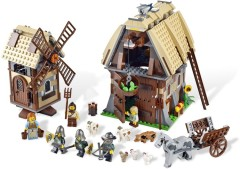 LEGO Castle 7189 Mill Village Raid