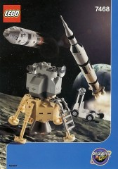 LEGO Discovery 7468 Saturn V Moon Mission