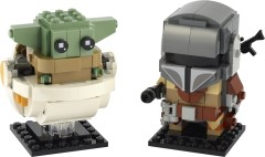 LEGO BrickHeadz 75317 The Mandalorian & The Child