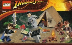 LEGO Indiana Jones 7624 Jungle Duel