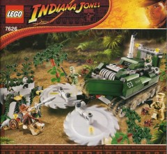 LEGO Indiana Jones 7626 Jungle Cutter