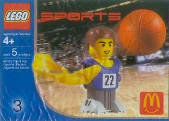 LEGO Sports 7917 Basketball Player, Blue