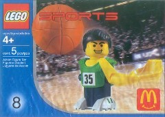 LEGO Sports 7918 Basketball Player, Green