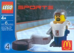 LEGO Sports 7919 Hockey Player, White
