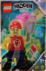 LEGO Hidden Side 791902 Possessed Pizza Delivery Man