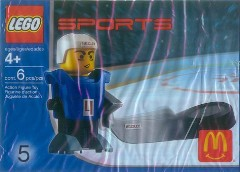 LEGO Sports 7920 Hockey Player, Blue