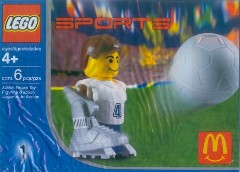 LEGO Sports 7923 Football Player, White
