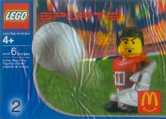 LEGO Sports 7924 Football Player, Red
