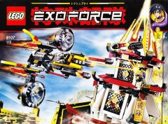 LEGO Exo-Force 8107 Fight for the Golden Tower