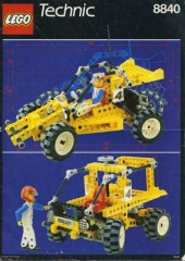 LEGO Technic 8840 Rally Shock & Roll Racer