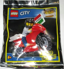 LEGO City 951909 Pizza Delivery Biker