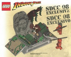 LEGO Indiana Jones COMCON002 BrickMaster (SDCC 2008 exclusive)