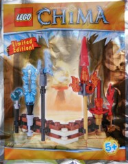 LEGO Legends of Chima 391504 Fire and Ice weapons