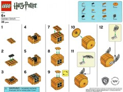LEGO Harry Potter SNITCH Golden Snitch